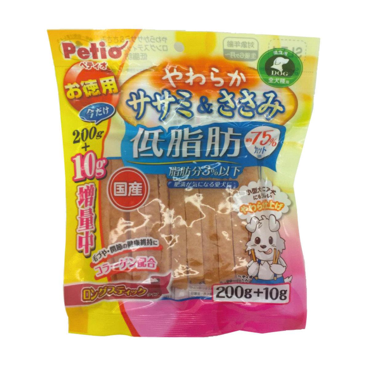 狗小食低脂雞胸肉長條(W1291470)200g+10g(最佳食用日期:30/07/2019)