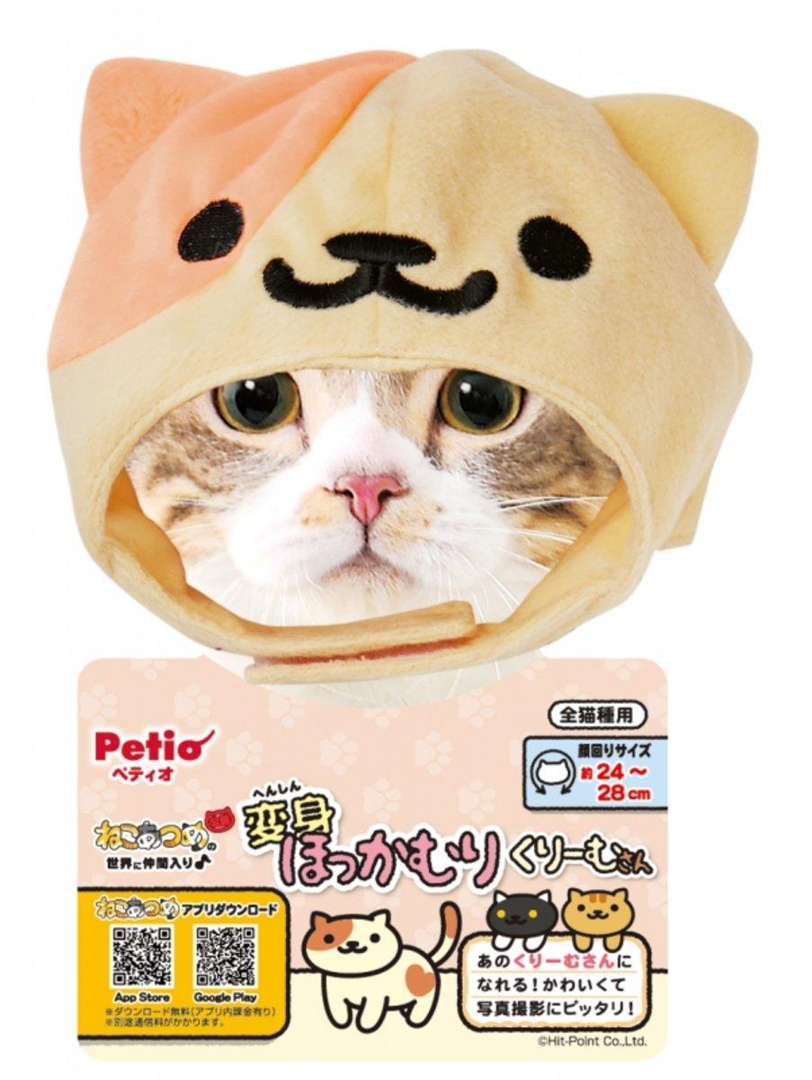 貓貓秋冬保暖變裝帽(雙色)#H24 (W25254)