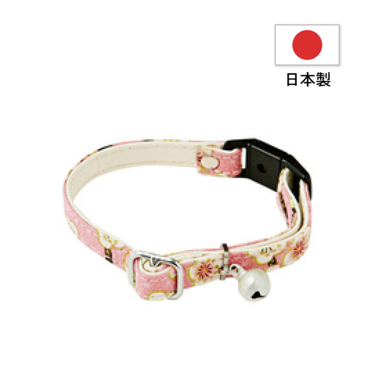 Nyan Gokoro Cat Collar Ume  Peach #J23 (A55023)