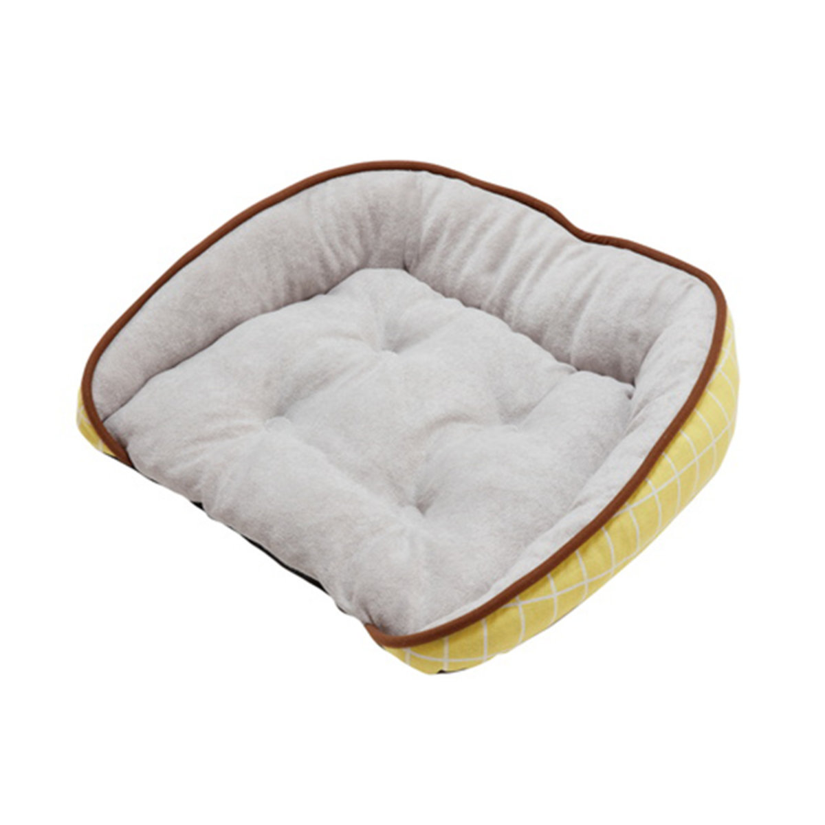 Cuna Square Pet Bed M (Yellow)  #H39