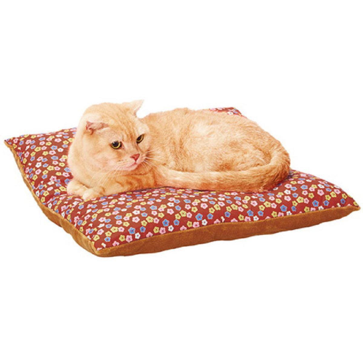Nekokomachi Soft Sleeping Mat  Floret Pattern #H46(W25697)