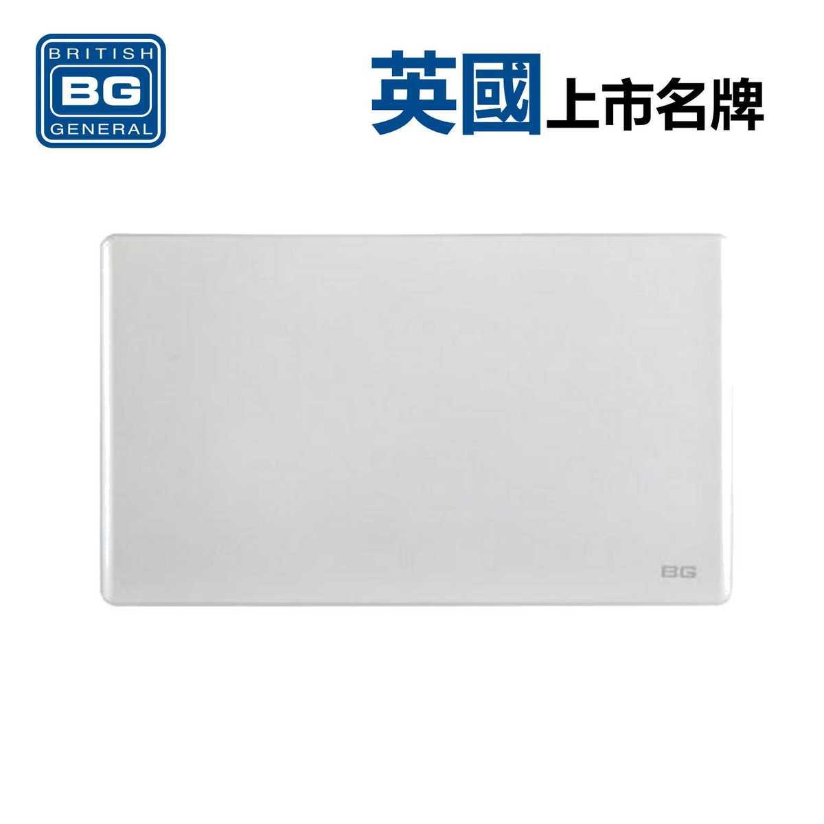 2-Gang Blank - White (Model: PCWH95)