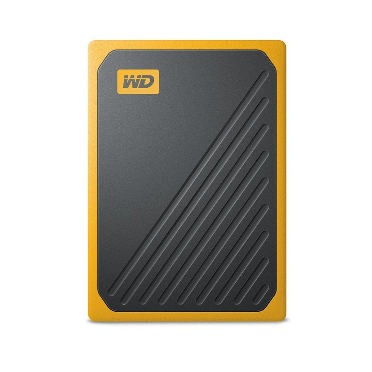 My Passport Go Portable SSD 500GB, 400MB/s, Built-In Cable (Amber)