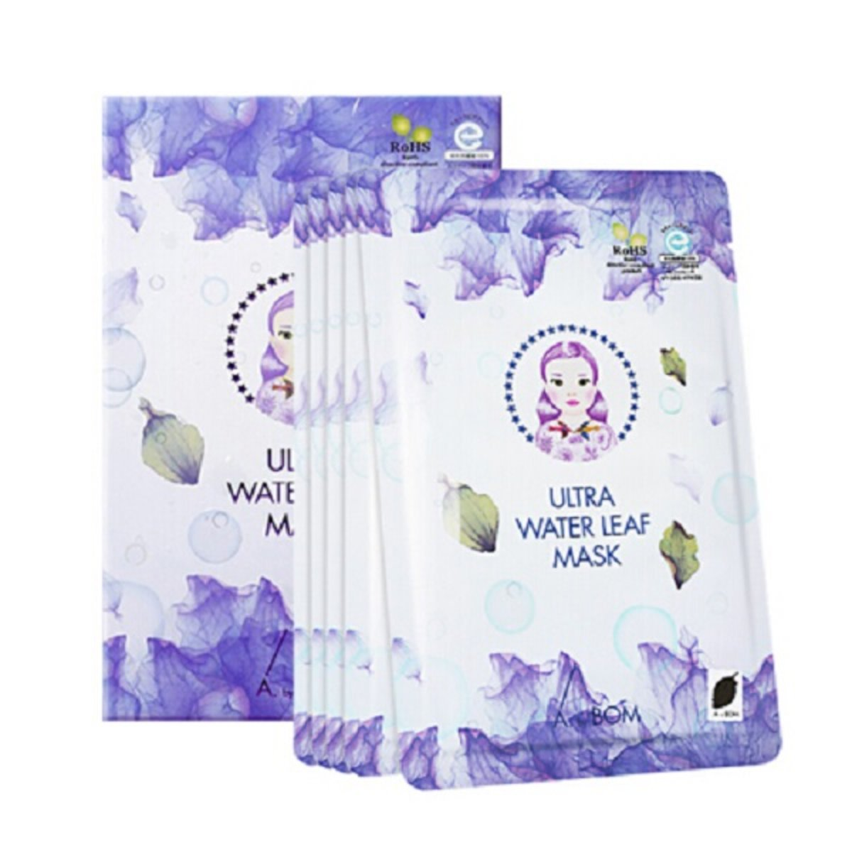 Purple Leaf Mask 5 pieces / box [Parallel Import]  [Expired Day: 12/3/2021]
