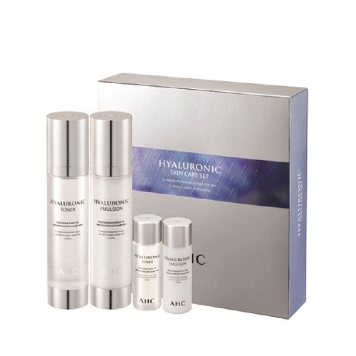 A.H.C Hyaluronic Skin Care 2 pcs Set  (Parallel Import)