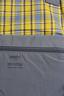 原裝日本進口 AT-B2491 灰色/黃格仔 大口袋背囊(行貨6個月保用)