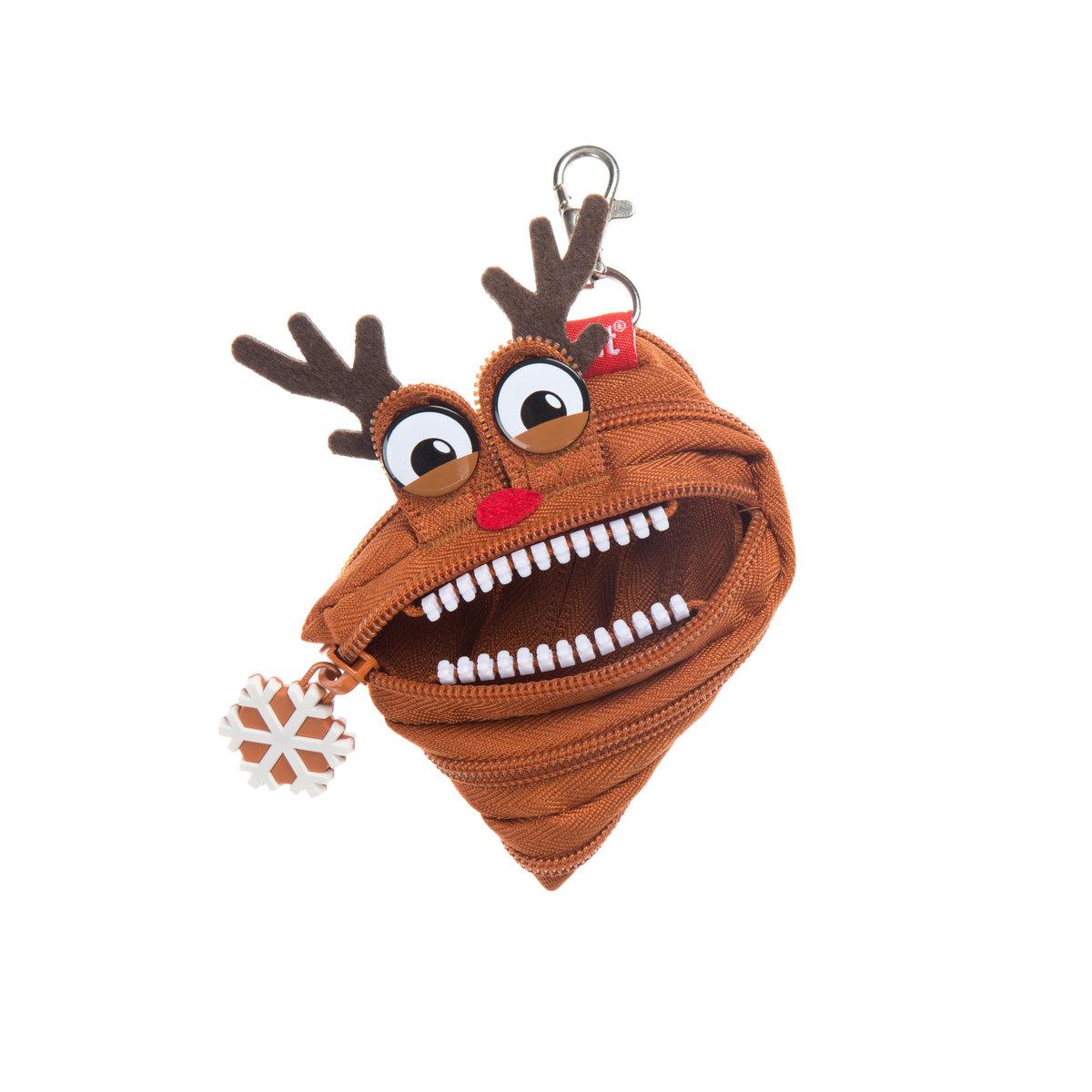 Monster ZPTM-MAS-De Christmas Mini Pouch Deer