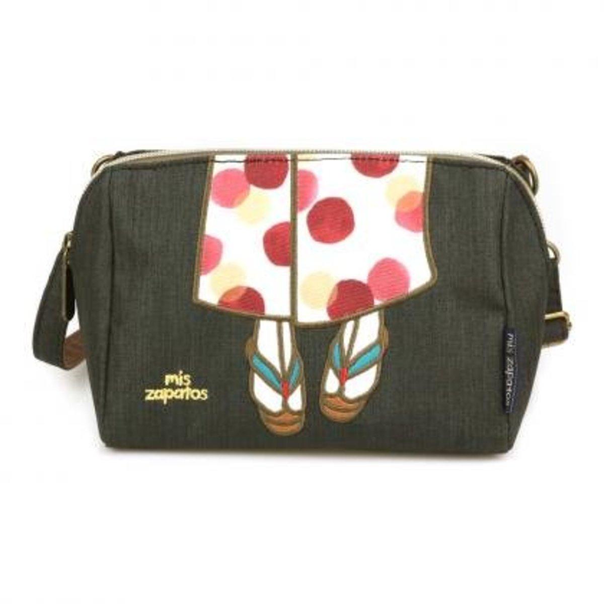 kimono Collection shoulder bag B-6980 - Black