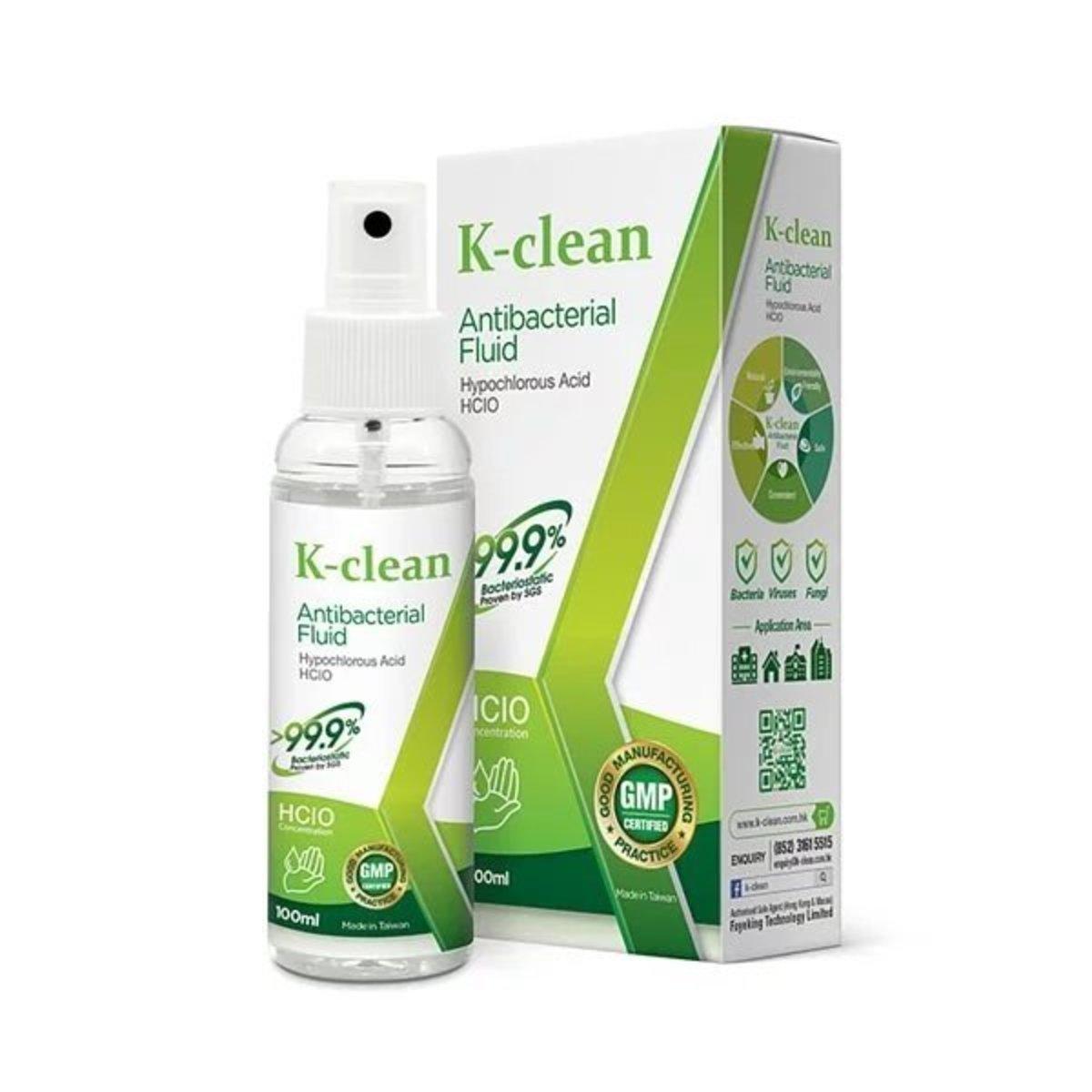 K-clean Antibacterial Fluid [100ml]