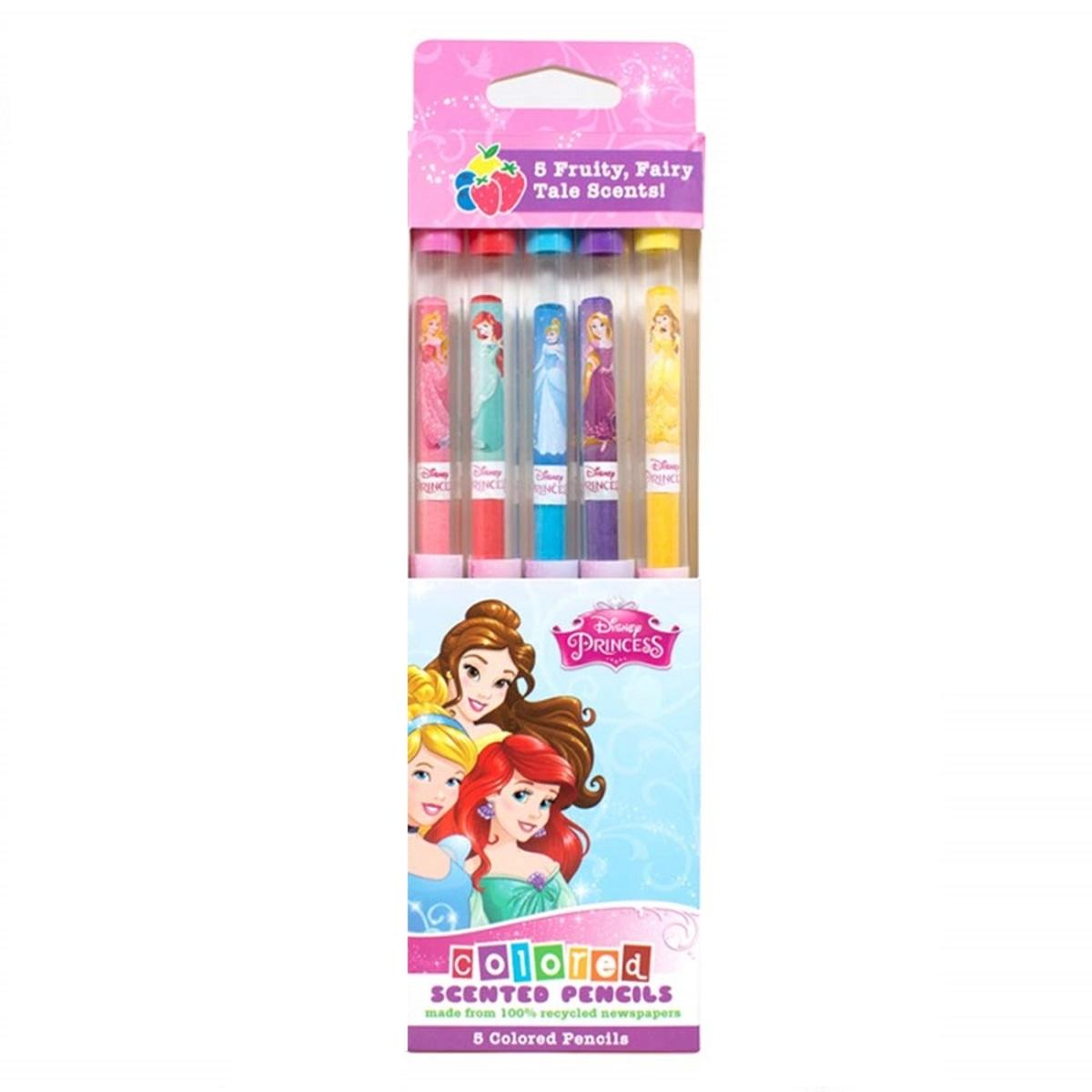 The Disney Princess Coloured Pencils 5-pack DP4007