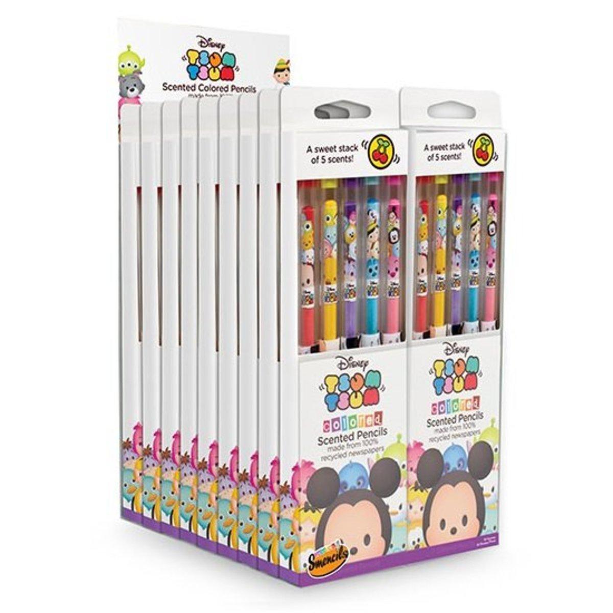 TSUM TSUM Coloured Pencil ((20 packs of 5-unit pack)) Smencils DT4006x20