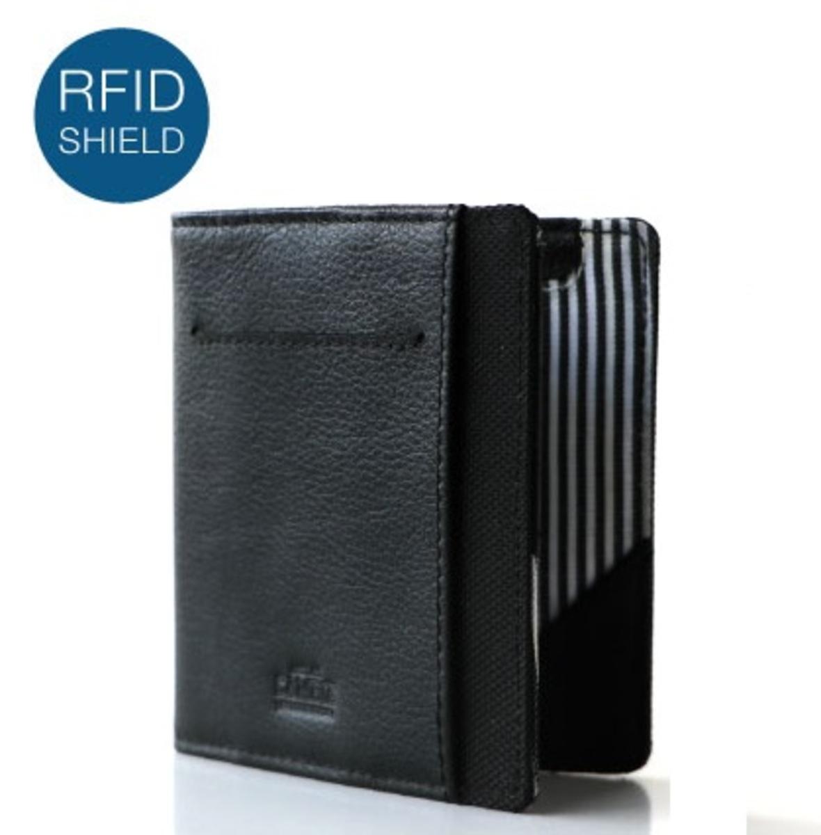 RFID Stealth Black FLIP WOLYT Gift Box