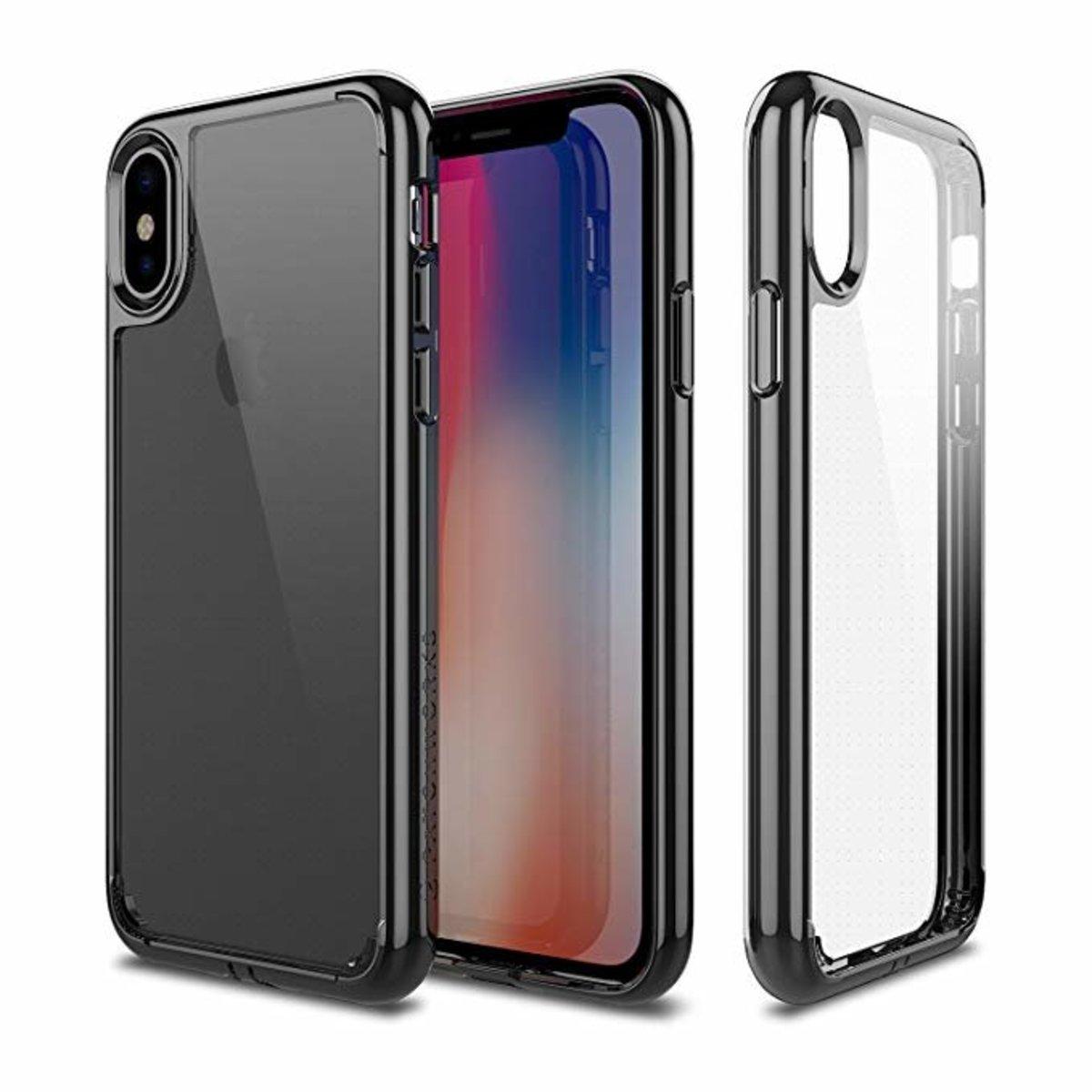 iPhone XsMAX LUMINA 水晶黑