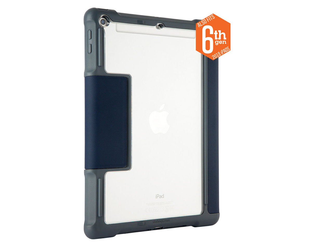 DUX Rugged Protection Case for iPad 6th / 5th Gen Midnight Blue