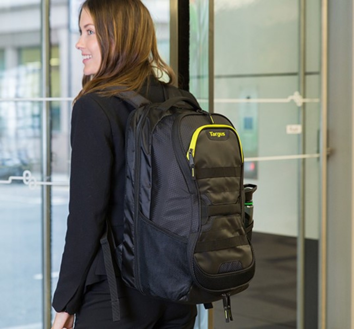 Work + Play Fitness Backpack Black