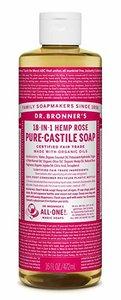 Dr. Bronner's 有機玫瑰皂液 16盎司 16盎司/ 473毫升