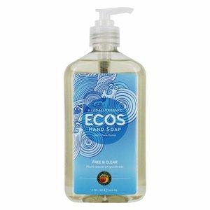 Earth Friendly ECOS 環保洗手液 - 無味 17盎司/ 503毫升