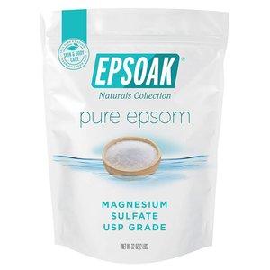 Epsoak 天然鎂鹽/瀉鹽/含硫浴鹽 2磅 (Epsom)