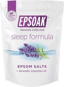 Epsoak 【薰衣草】 鎂鹽/瀉鹽/愛生鹽/含硫浴鹽 2磅