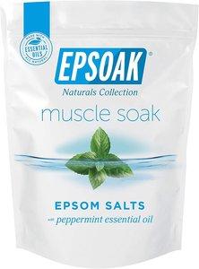 Epsoak 【薄荷】天然鎂鹽/瀉鹽/含硫浴鹽 2磅