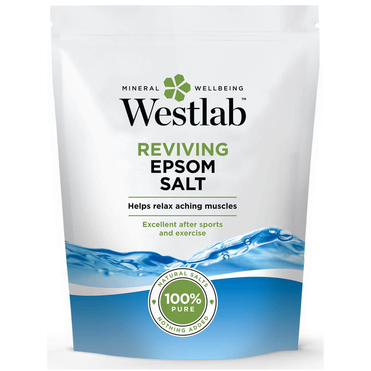 Epsom Salt 鎂鹽/瀉鹽/含硫浴鹽 5公斤