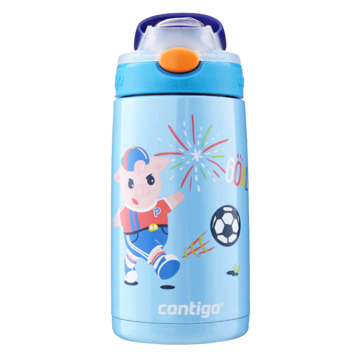 Kids 410ml Gizmo Chill Water Bottle - Pirate