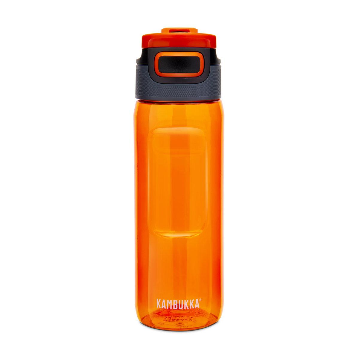 Kambukka Elton 3 in 1 Snap clean Water Bottle (Tritan) 25oz (750ml) - Amber