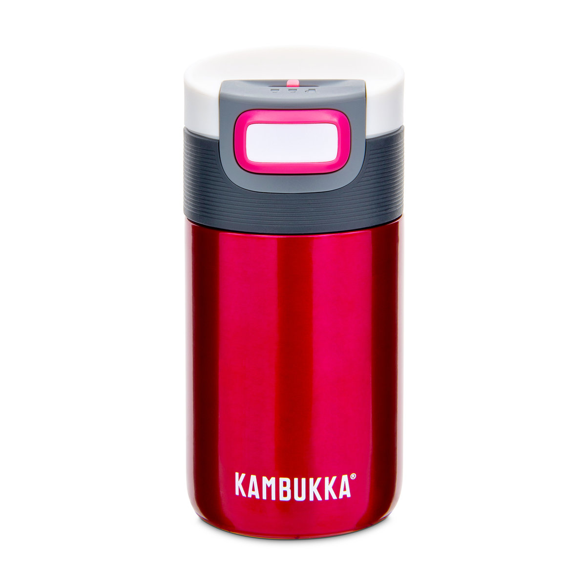 Kambukka 艾娜保溫杯 (不銹鋼) 10oz (300ml) - 紅莓色