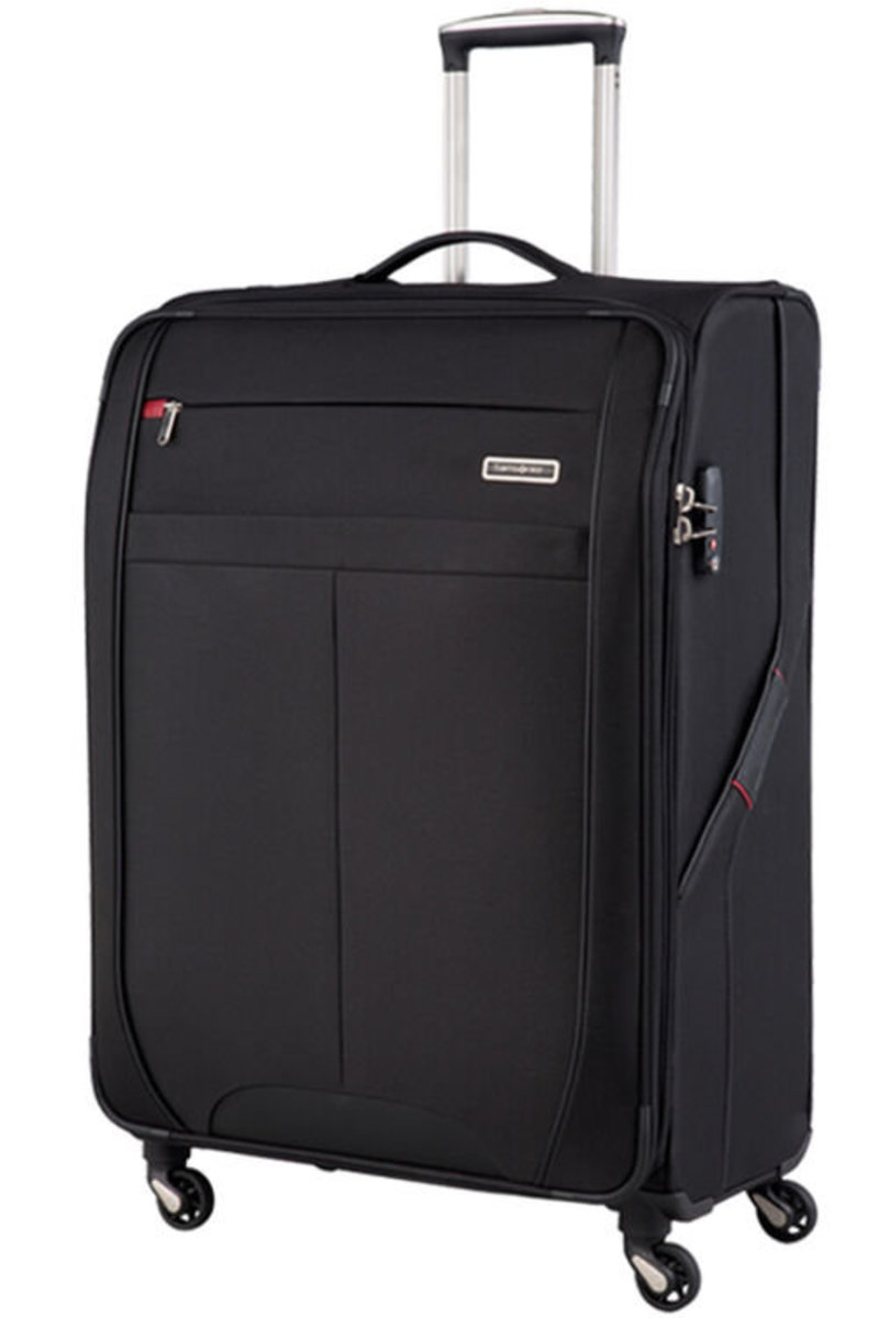 SYNCONN(可擴充)行李箱 76厘米/28吋 -黑色