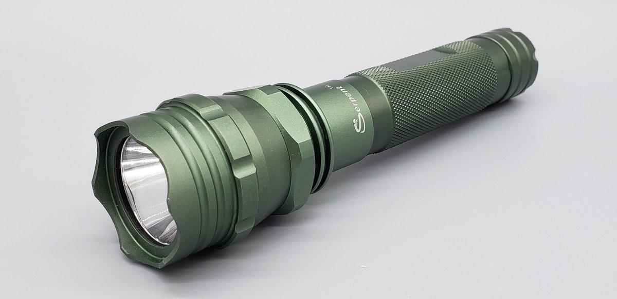 Serpent (LSL02) 戰略用可充電式鋁合金LED手電筒