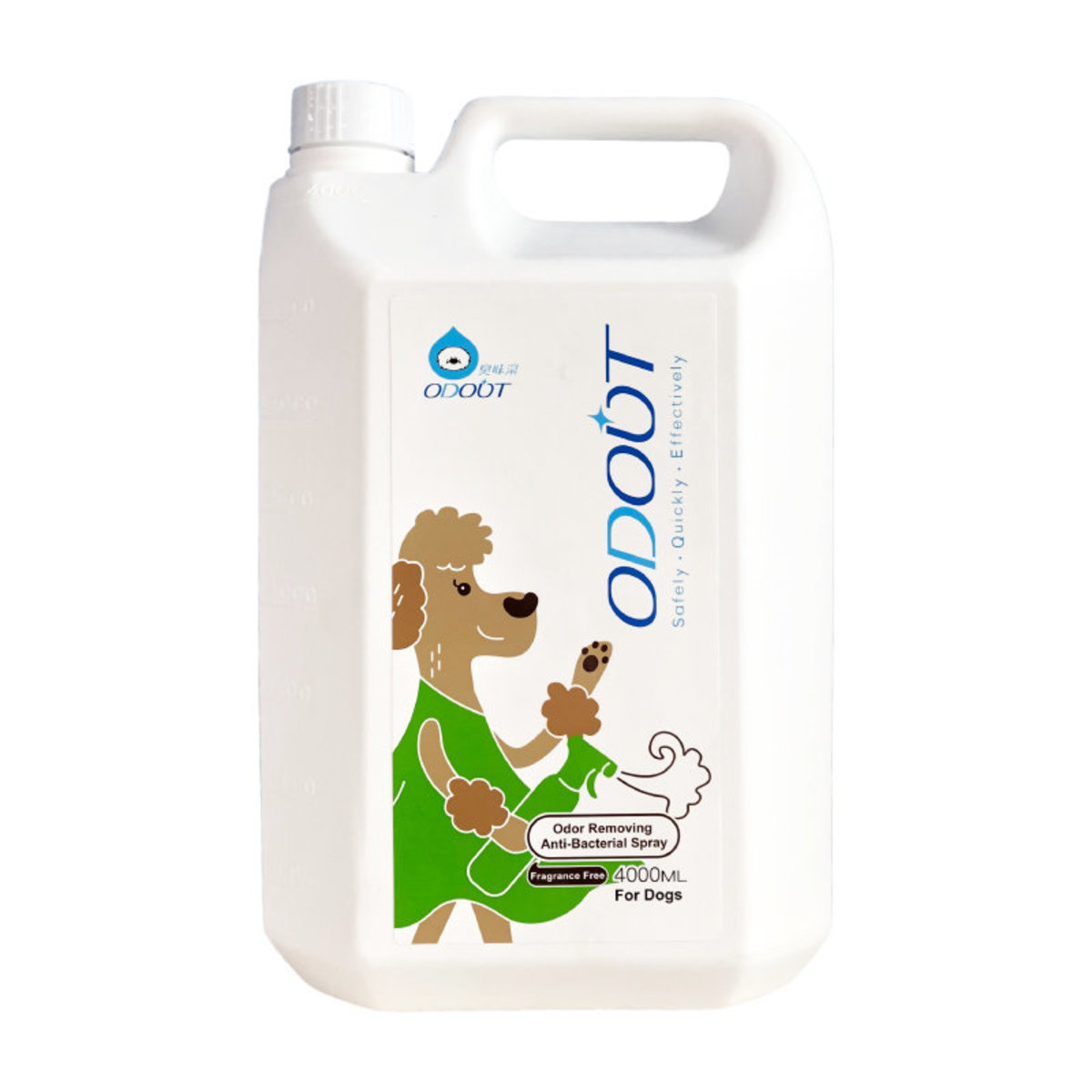 Odour & Stain Remover Anti-bacterial Spray for Dog (Refill Pack)4L (Q36) (184105)