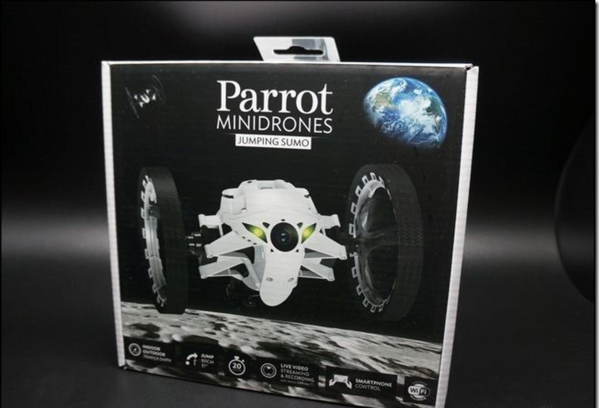 Parrot - 香港行貨Parrot Jumping Sumo 迷你無人機