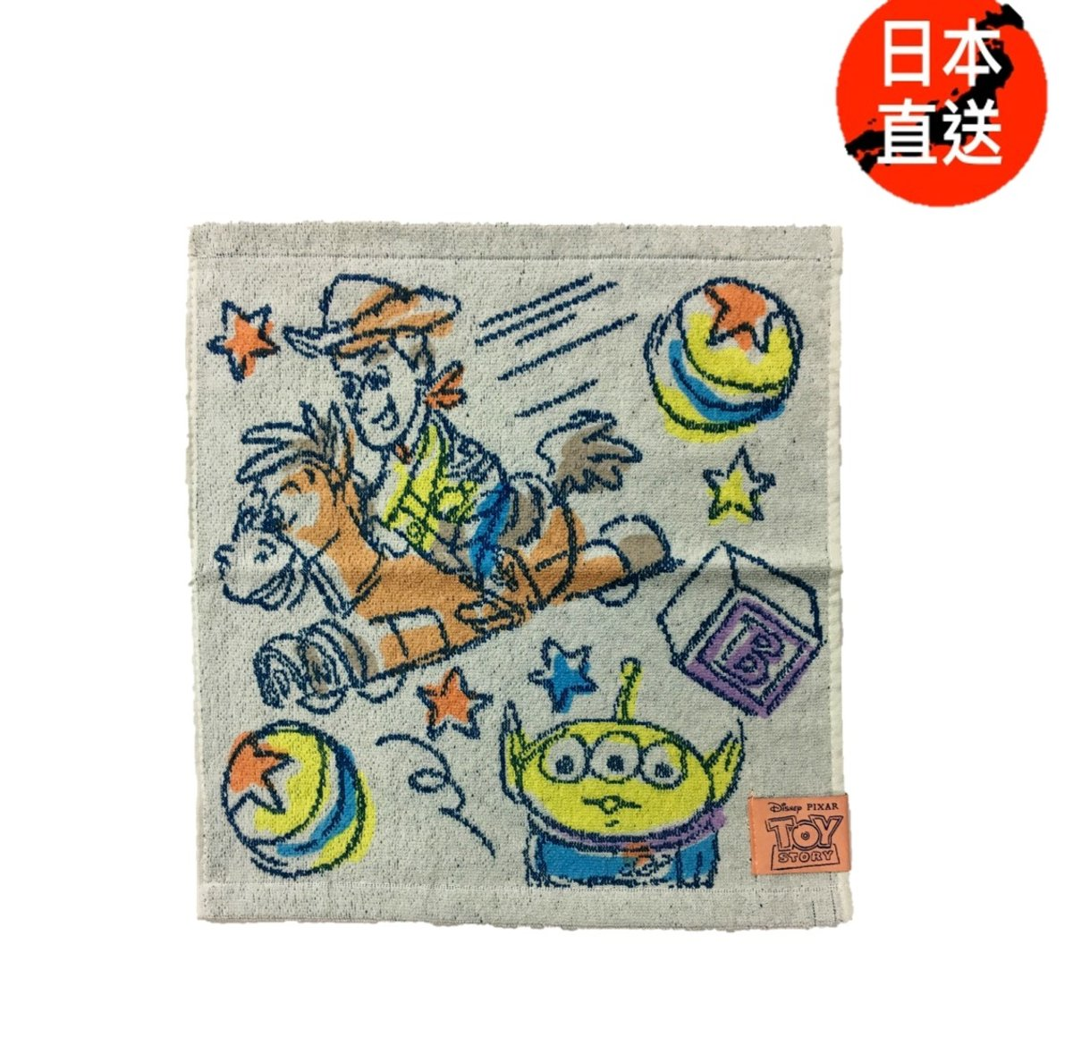 Disney迪士尼 --face towel A (Licensed by Disney)