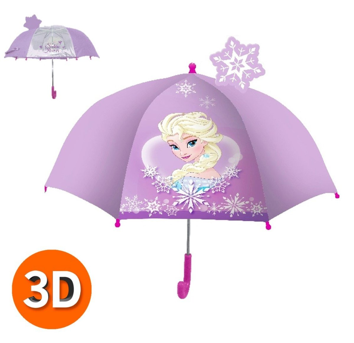 3D Umbrella B (Licensed by Disney)