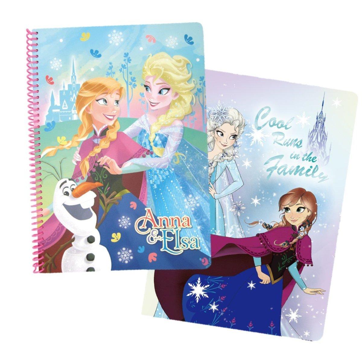 Disney迪士尼 --筆記本套裝 (迪士尼許可產品)