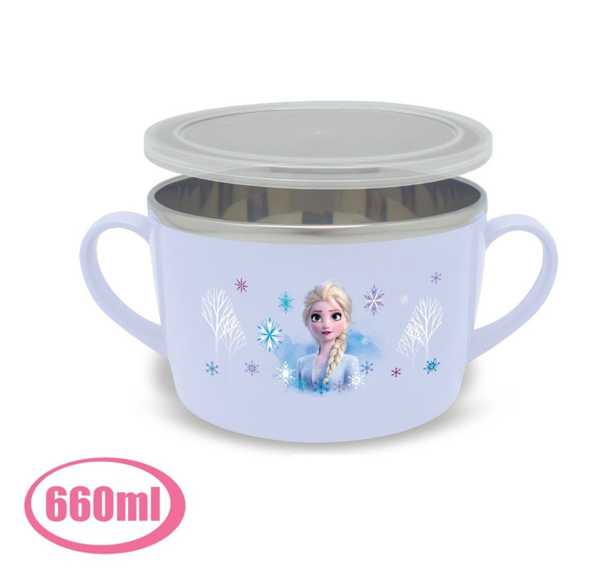stainless steel  bowl(660ml)  (Licensed by Disney)