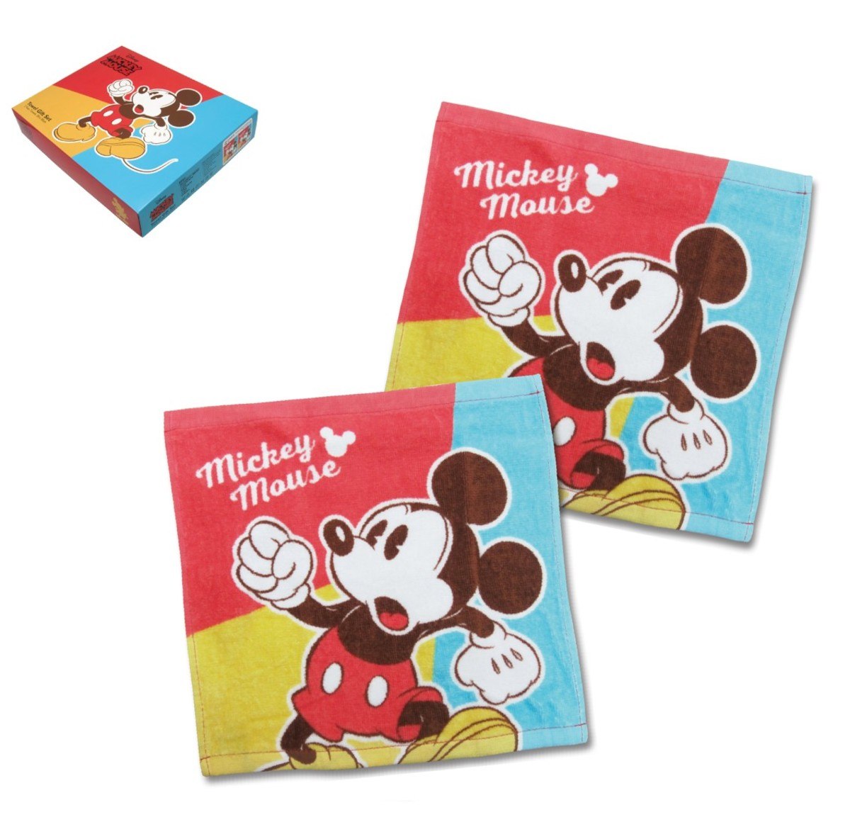 face Towel box set(limited edition) (Licensed by Disney)
