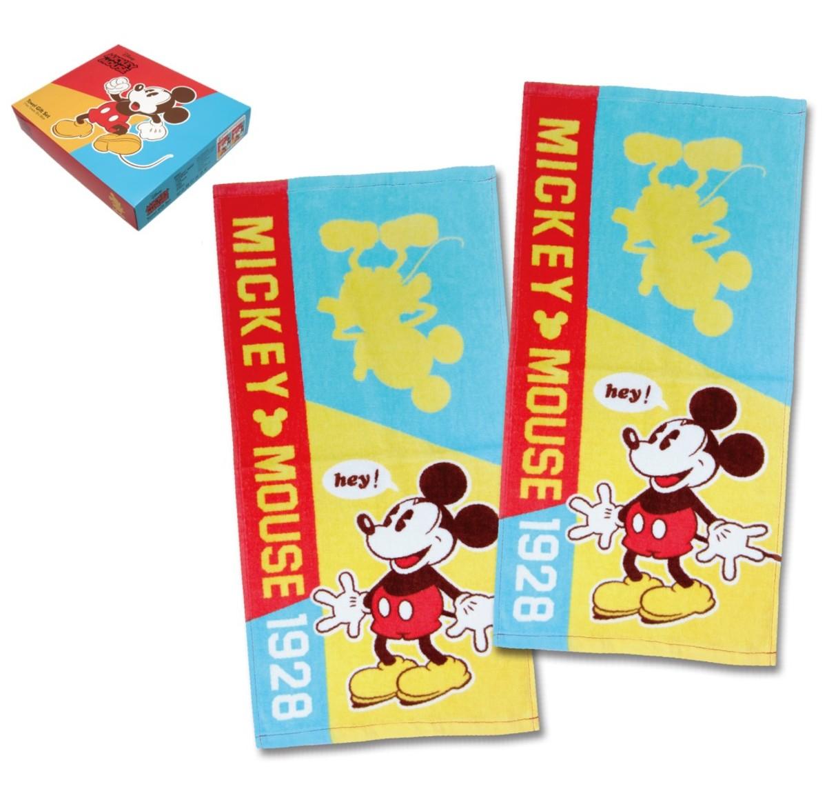 Disney迪士尼 --2P長巾套裝(限定版) (迪士尼許可產品)