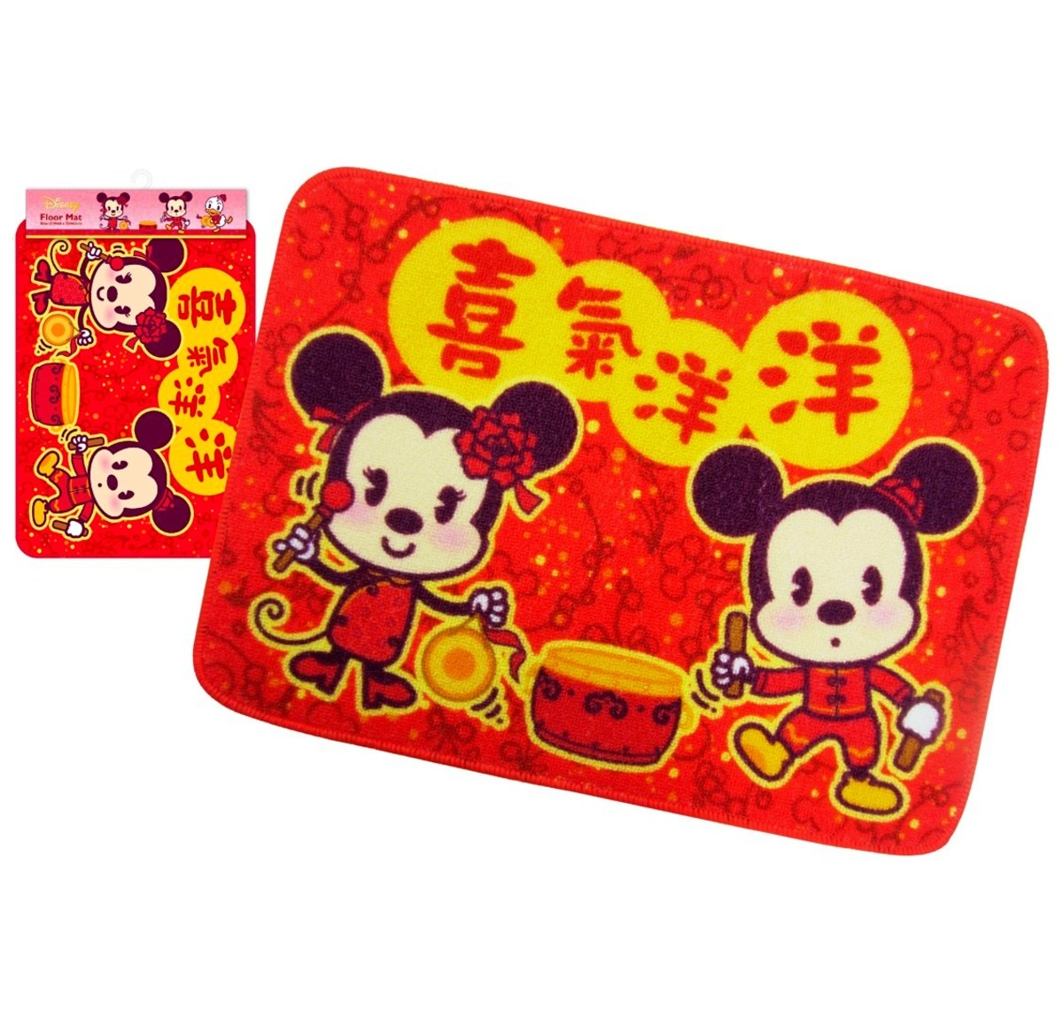 floor mat E (cny version) (Licensed by Disney)