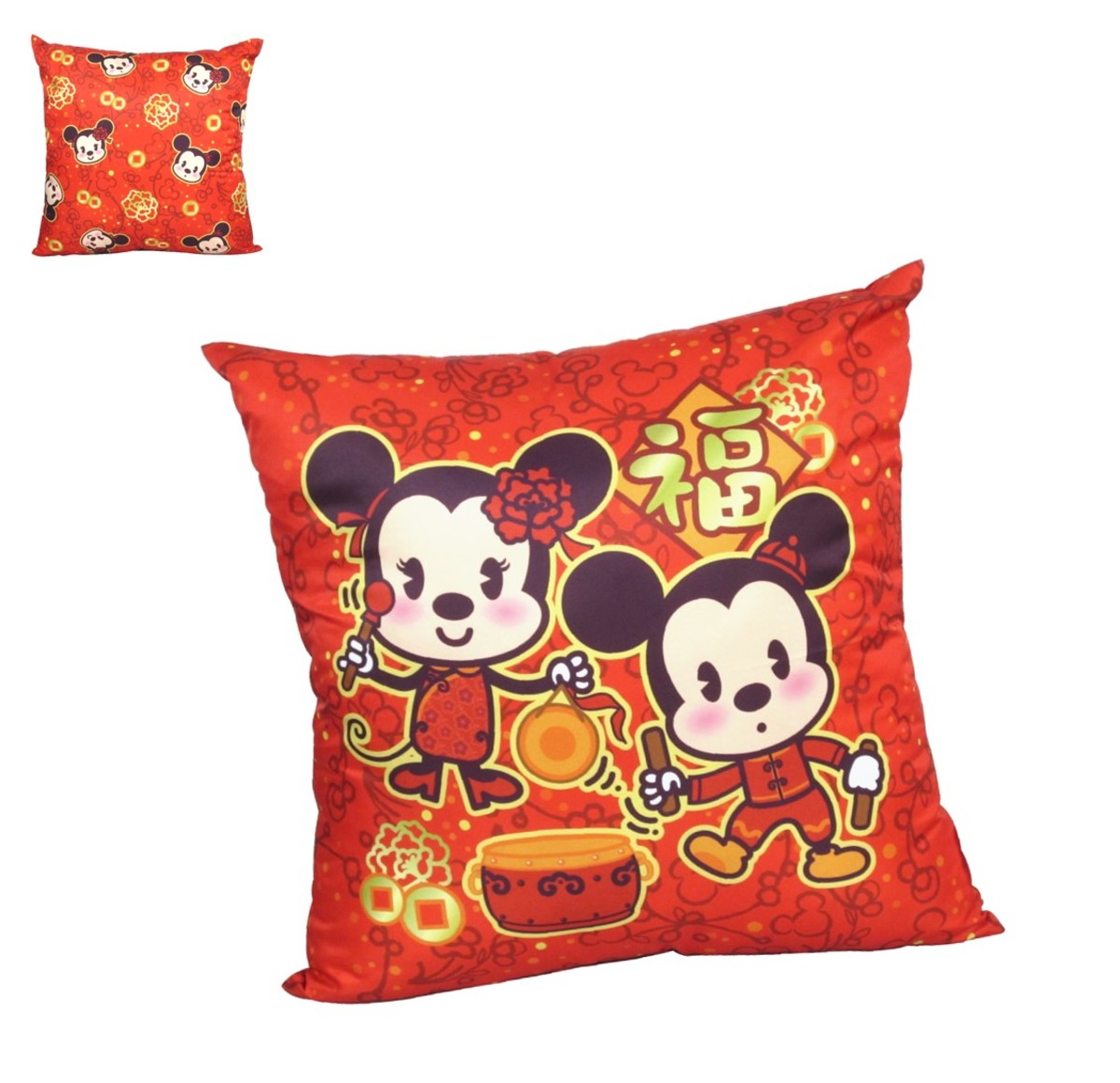 cushion E  (cny version) (Licensed by Disney)