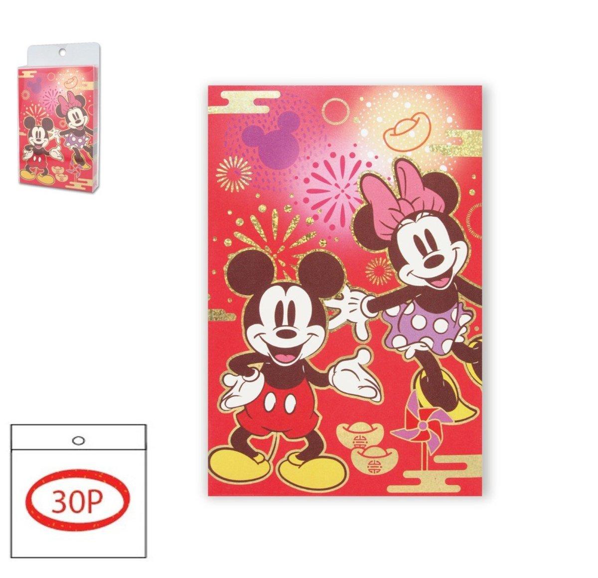 red pocket set G(Rectangular version) 30P(Licensed by Disney)