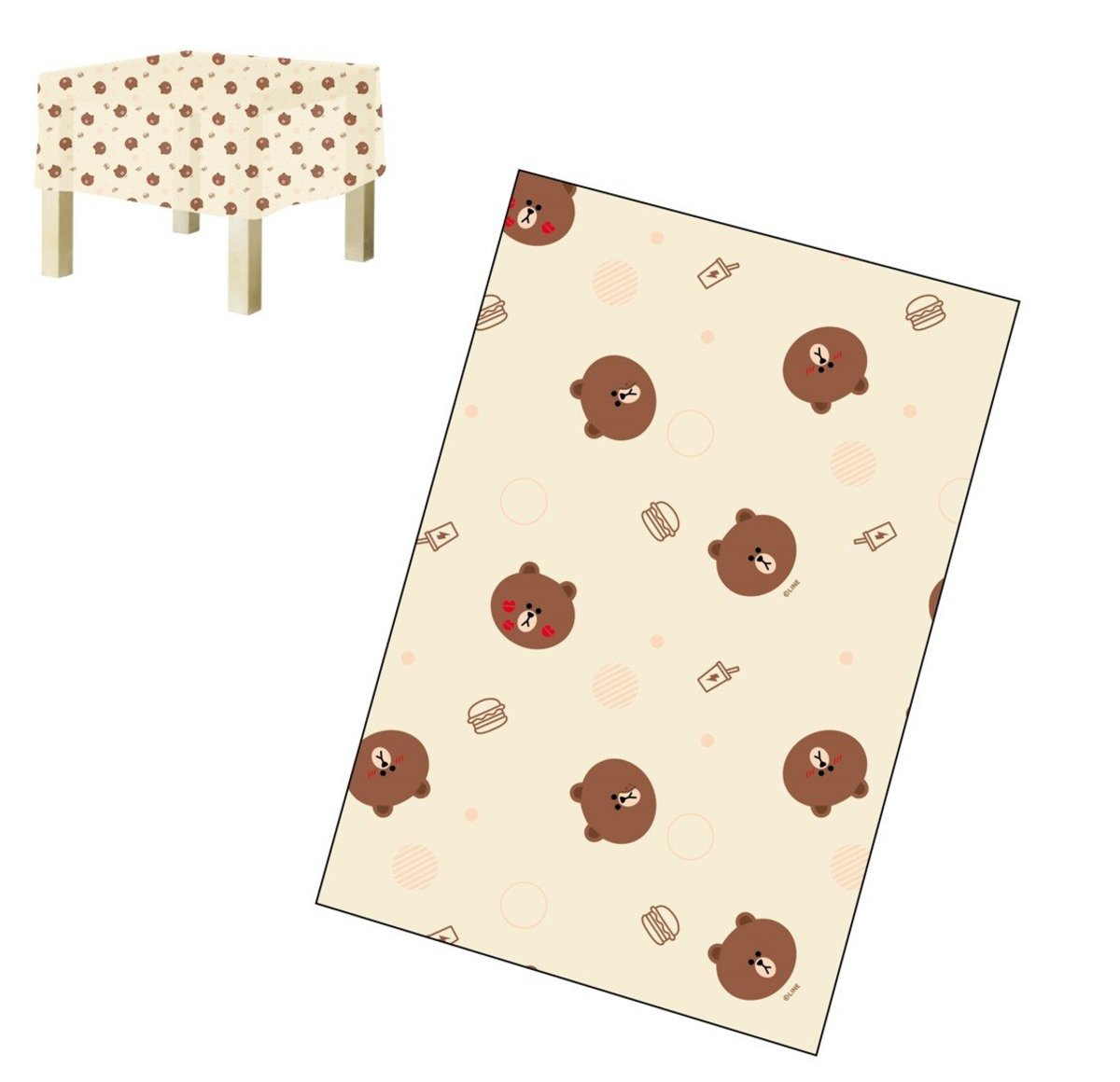 line Friends Tablecloth(rectangle)