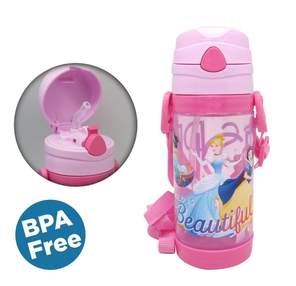 Disney迪士尼 --Water Bottle W/string 450ml (Licensed by Disney)