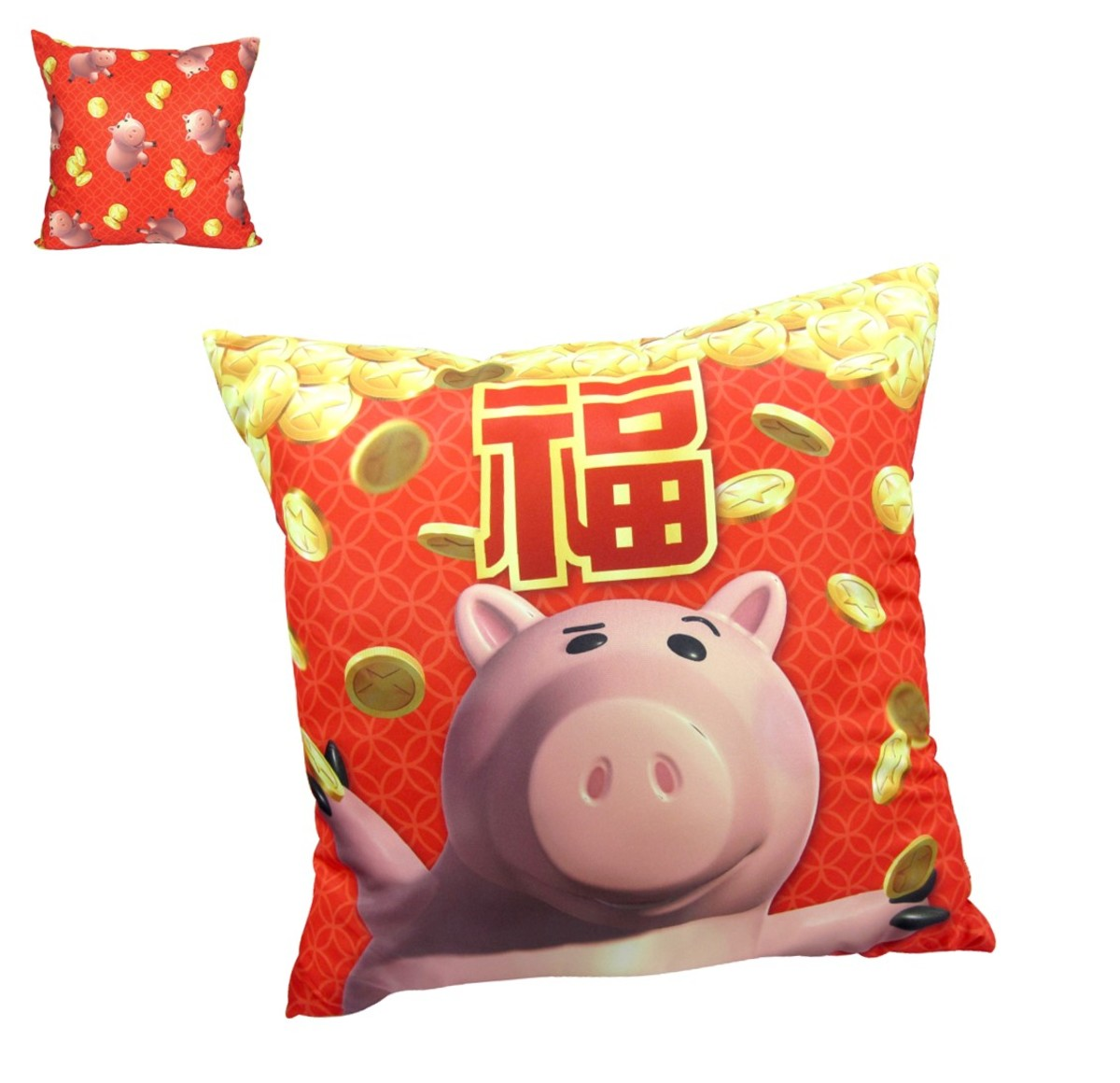 cushion E  (cny version) (Licensed by Disney)