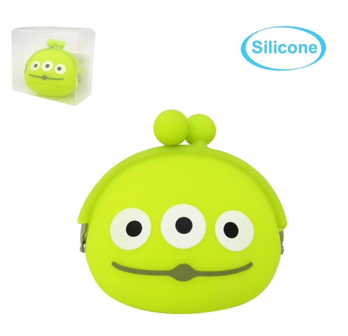 Silicone Coin Purse(Alien)(Licensed by Disney)