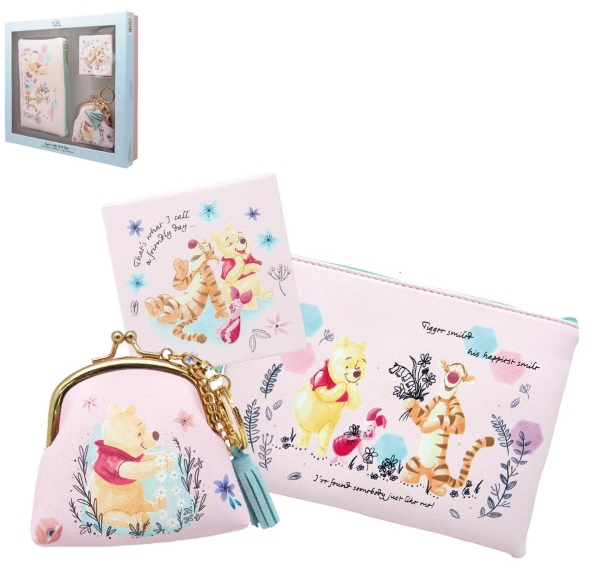 3P Cosmetic Gife Set (Licensed by Disney)