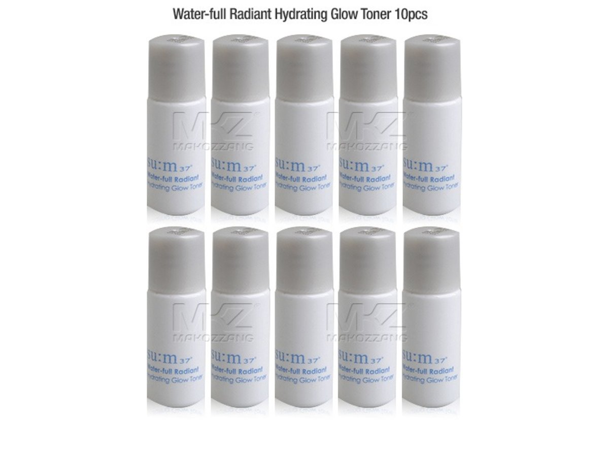 Water Full Radiant Hydrating Glow Toner 5ml x 10pcs    [Parallel Import Product]