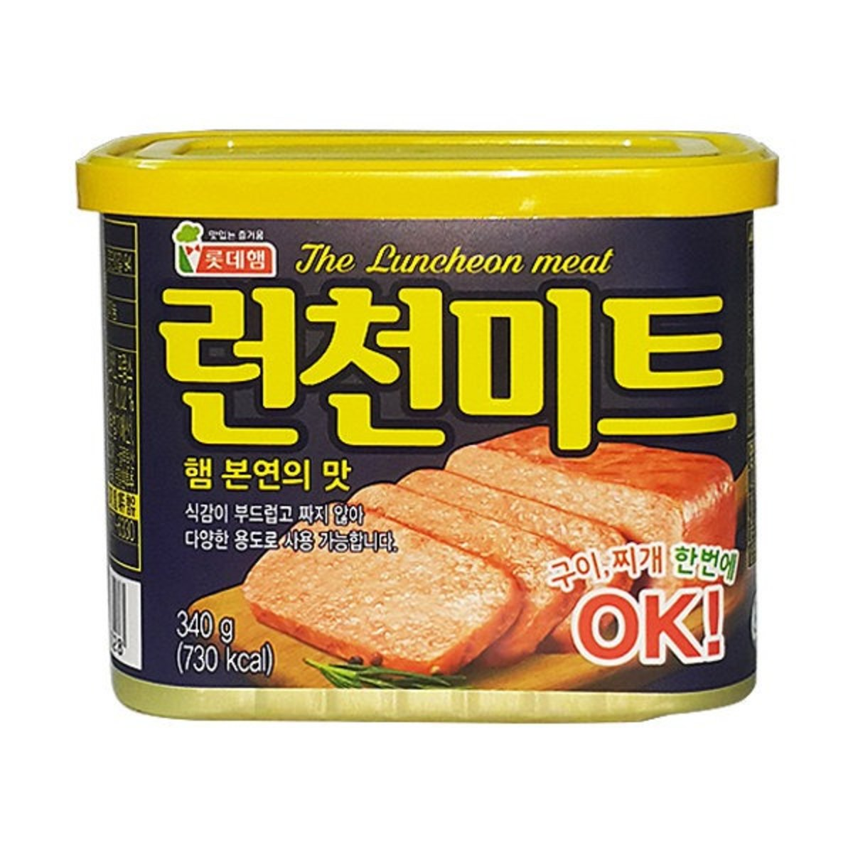 Lotte Luncheon Meat 340g    [Parallel Import Product]