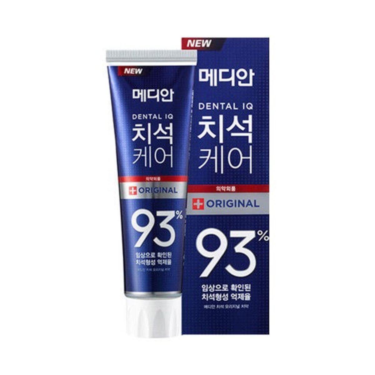 Median - 牙石護理93 原味牙膏 (藍色) 120g (此為平行進口產品)    [Parallel Import Product]