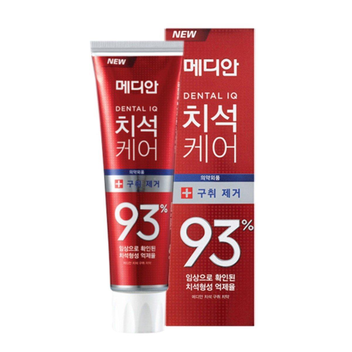 Median - 牙石護理93% 清爽牙膏 (紅色) 120g (此為平行進口產品)   [平行進口產品]